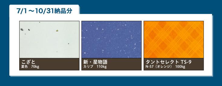 こざと夏色、新・星物語 カリブ、タントセレクトTS-9 N-57(オレンジ)