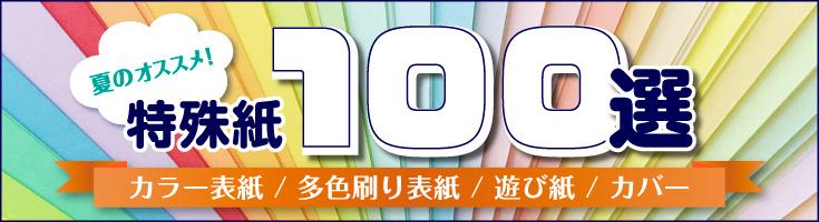 夏のオススメ!特殊紙『100選』